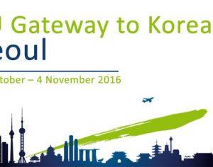 """Relansarea programului """"EU Gateway to Korea"""""""