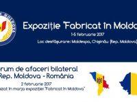 """Expoziţie """"Fabricat în Moldova"""" – 2017"""