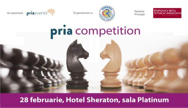 PRIA Competition – 28 februarie 2017