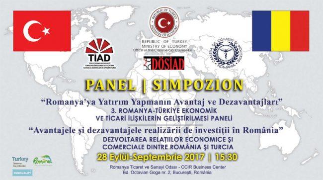"""Forum de Afaceri """" Avantajele și dezavantajele realizării de investiții în România""""."""