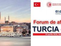 Forum de afaceri și investiții Turcia – România